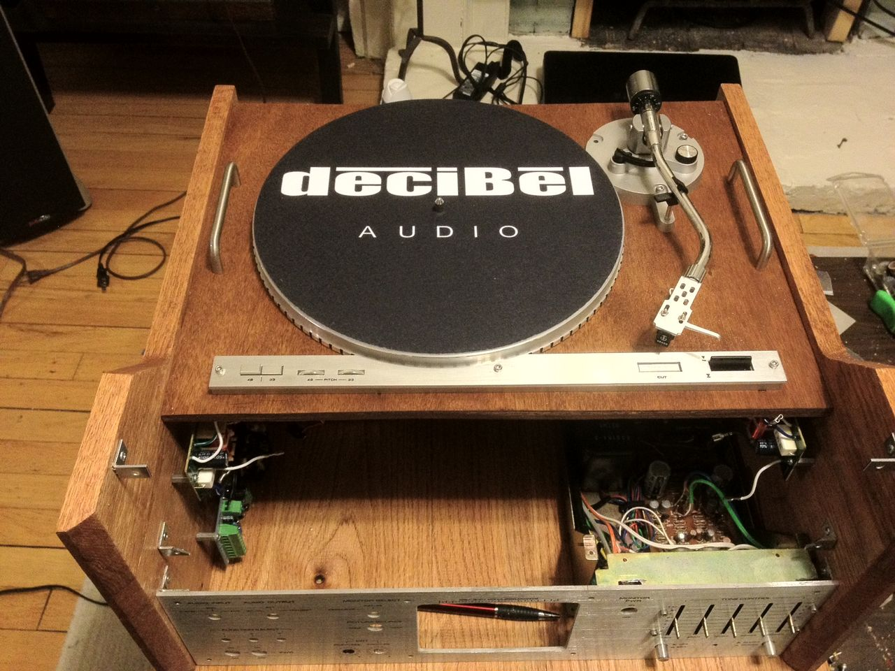 Not your grandpa's stereo  My WiFi Pi + record player